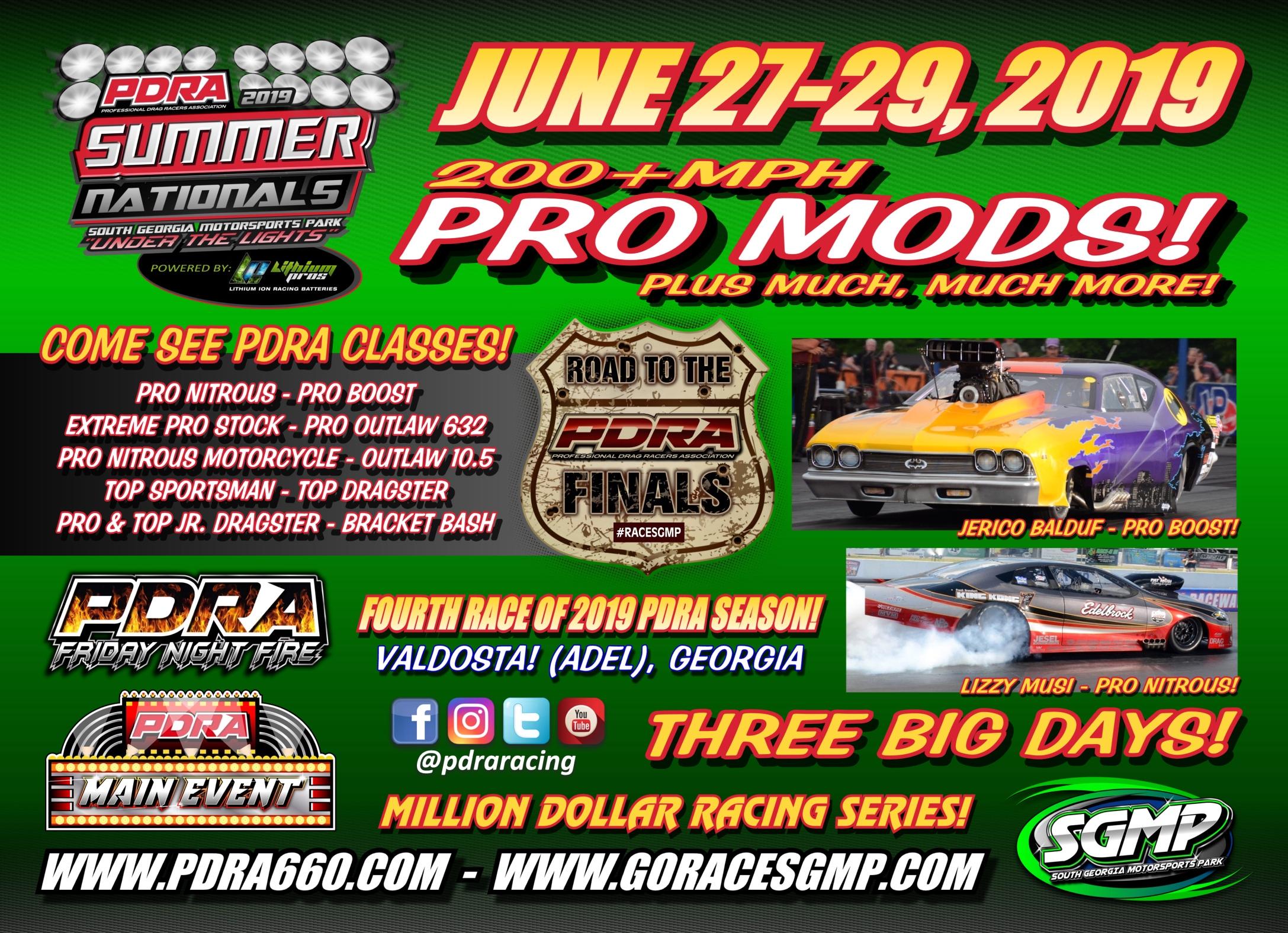 PDRA / Professional Drag Racers Association